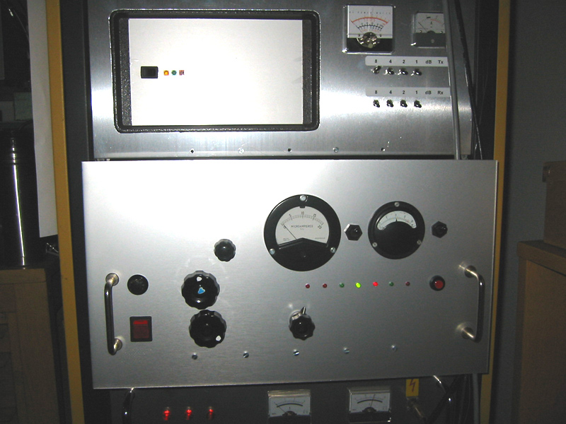 SM6FHZ 70 cm transverter, PA and HSP power suply