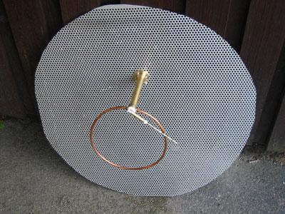 Ham Radio Of Sm6fhz 432 Mhz Bfr Loop Feed